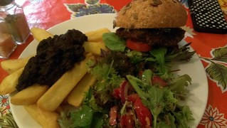 Veggie burger - Revolution