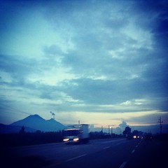 Guatemala: Land of volcanoes. #guatemala #Altiplano #sierramadre #volcano #fuego #acatenango #volcanoes #volcanes #highway