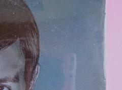 Édouard Louis, Il caso Eddy Bellegueule. Bompiani 2014. Progetto grafico: Polystudio; Imm. alla cop.: ©Hans Neleman/Corbis; fotog. dell'autore: John Foley/Seuil. Prima di sovracop. (part.), 4