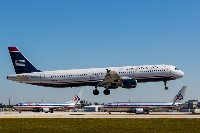 US AIrways and American Airlines: fusion