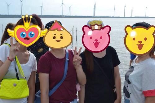 台中彩虹眷村+高美濕地觀光景點自由行-台灣嬉遊記包車車隊 (28)