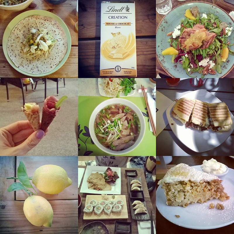 June Instafood Collage