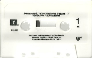 "Powermad ""The Madness Begins"" EP (1988)(Cassette Side 1)"
