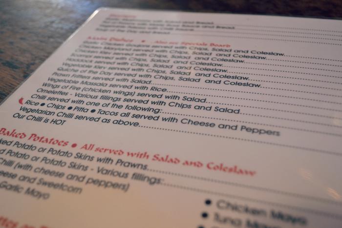 Phoenix dundee menu