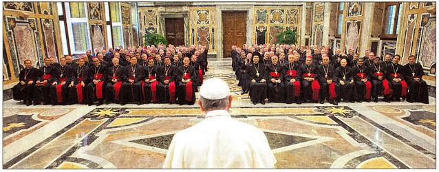 Franziskus - neuernannte Bischöfe -2014_09_18