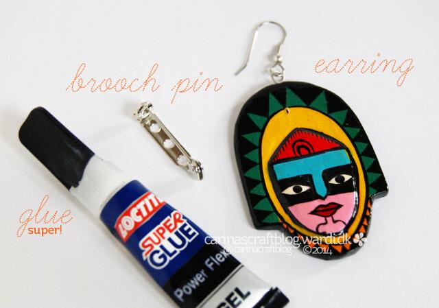 Earring to brooch