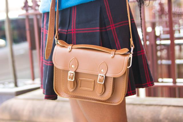 Mini brown cambridge satchel