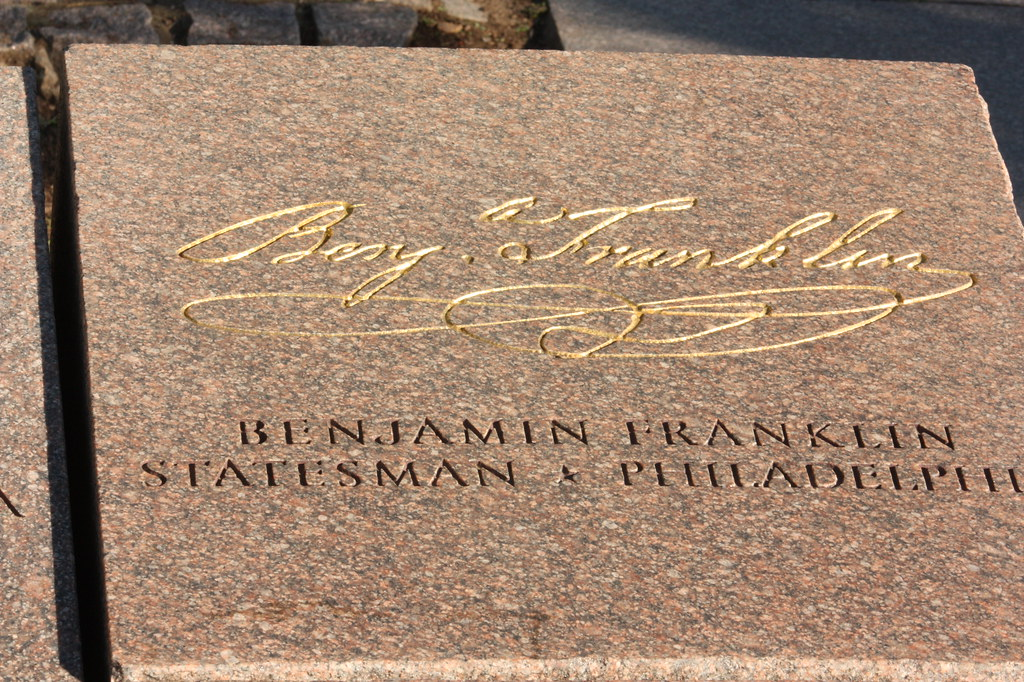 Ben Franklin signature