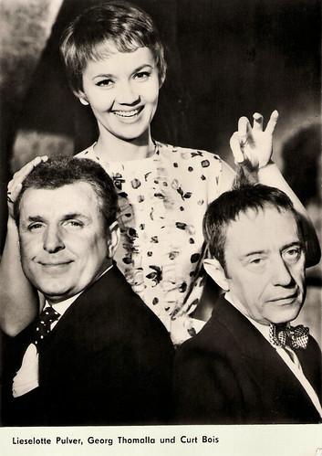 Liselotte Pulver, Georg Thomalla, Curt Bois