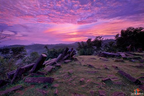 Sunrise at Mt Padang