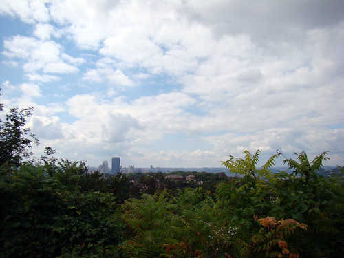 View of downtown from Herron Hill Park, Sept. 16th 2014
