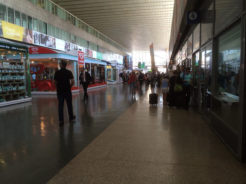 テルミニ駅コンコース