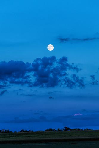 sunset wisconsin unitedstates moonrise wisconsindells ©jrj