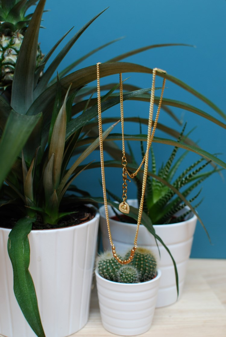simple brass jewellery