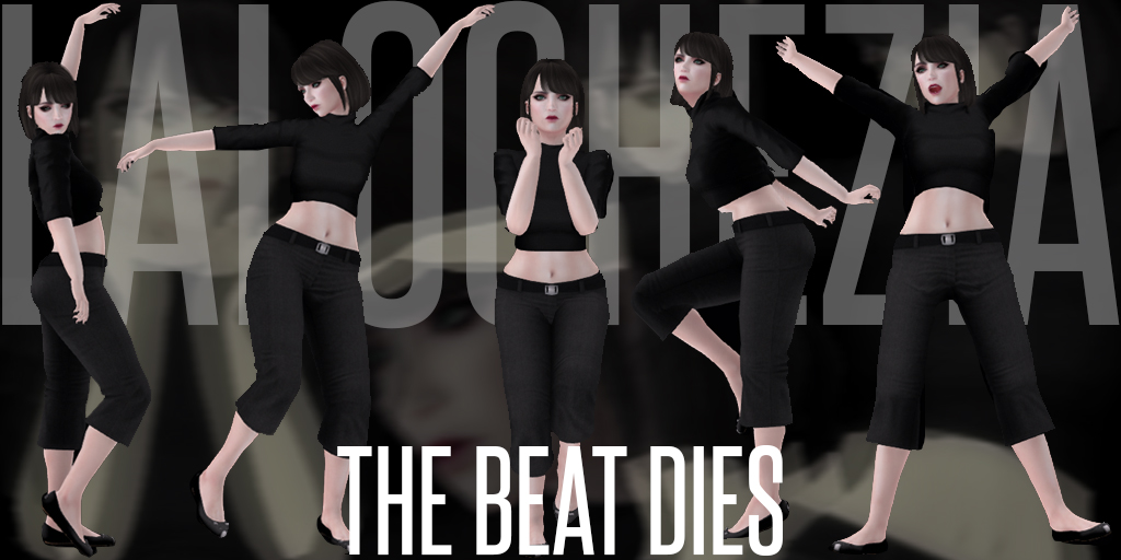 The Beat Dies static pose set
