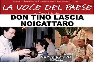 Noicattaro. Prima pagina n. 36-2014 front