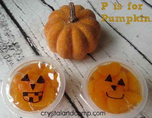P is for Pumpkin Snack (Photo from Crystal & Co)