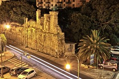 Palermo - Mura di porta Montalto - NIGHT HDR