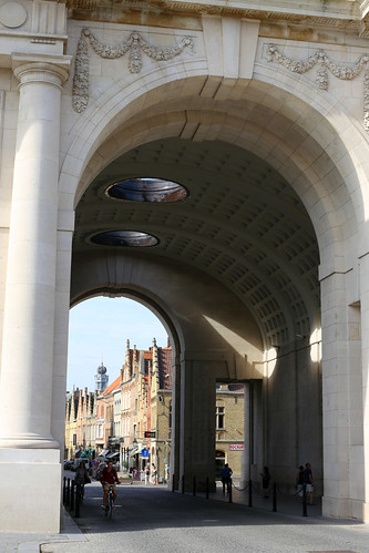 The Menin Gate, Ypres, Flanders