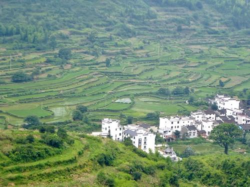 Jiangxi-Wuyuan-Montagnes et lac (22)