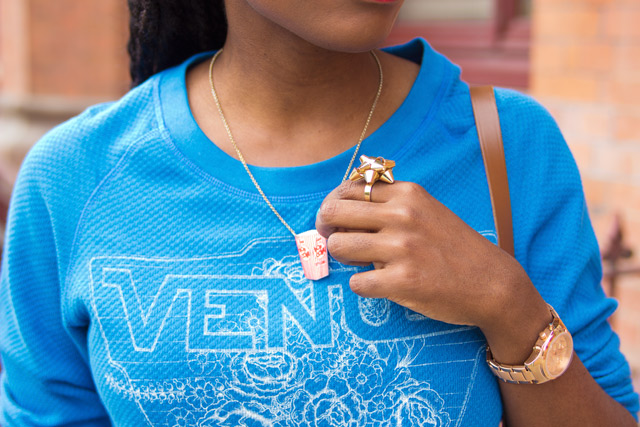 Ganni Venus sweatshirt