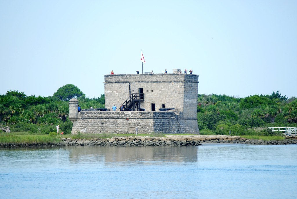 Fort Matanzas from the mainland