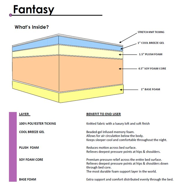 Fantasy Mattress INFO