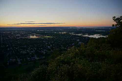 La Crosse from the bluffs