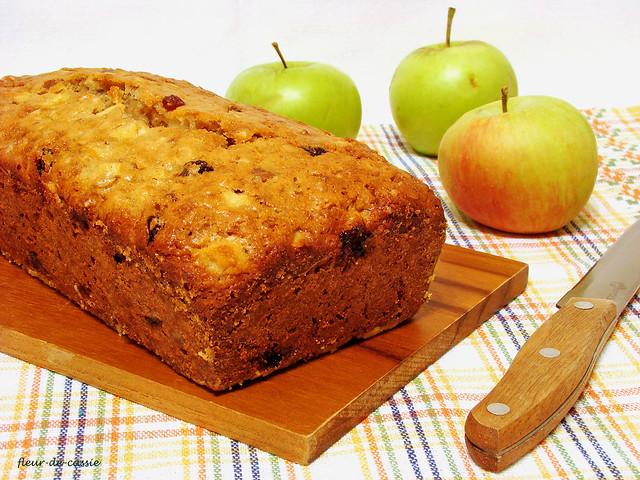 яблочный кекс с орехами и изюмом Дори 2