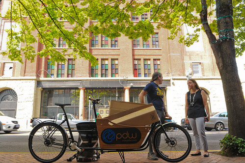 Delivery downtown