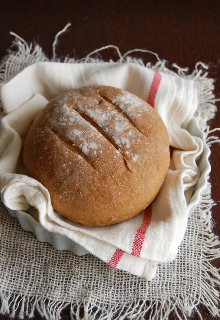 Rye and stout bread / Pão de centeio e cerveja stout