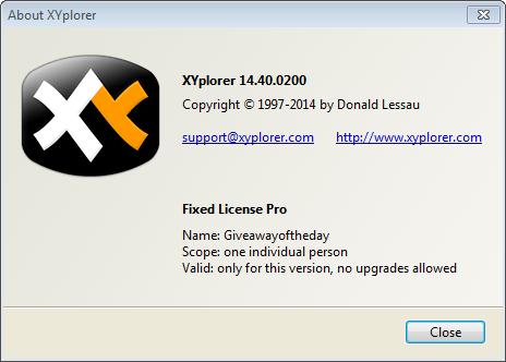Review #6: XYplorer (Windows) – nochkawtf