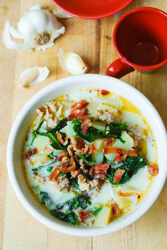 Olive Garden 39 S Zuppa Toscana Soup With Swiss Chard Julia 39 S Album