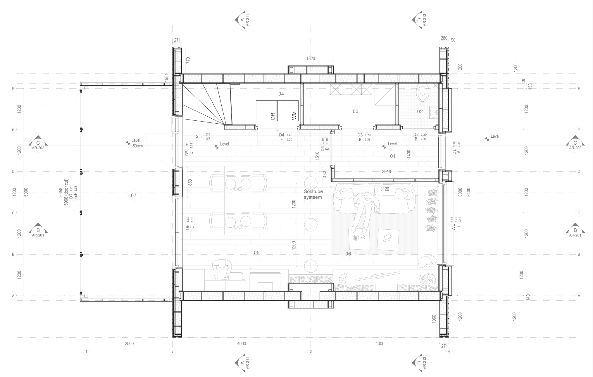 Ground floor plan for poster