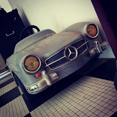 My new mercedes 300SL