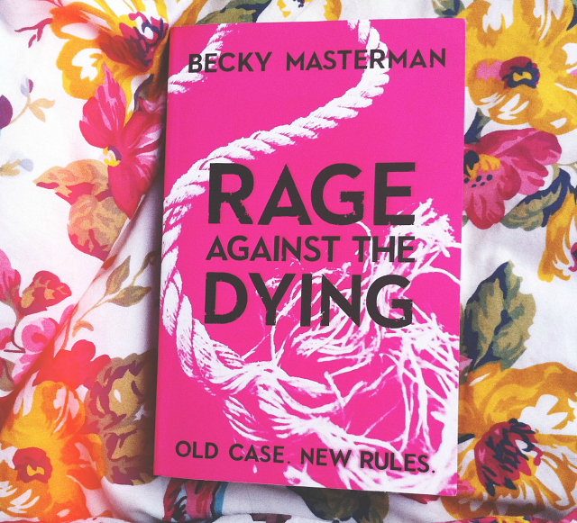 lifestyle book blogger vivatramp uk mini book reviews rage against the dying becky masterman