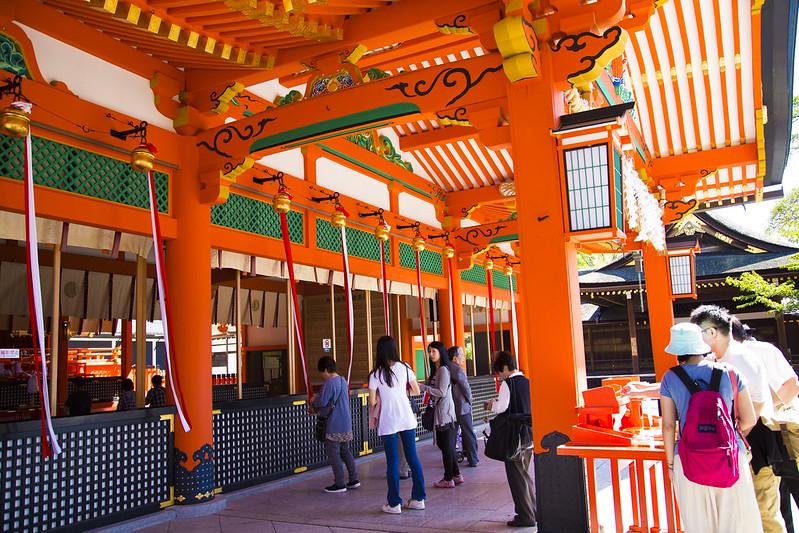 伏見稲荷大社(Fushimiinaritaisha (in Kyoto))17