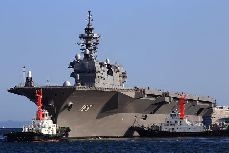 JMSDF DDH183 Izumo