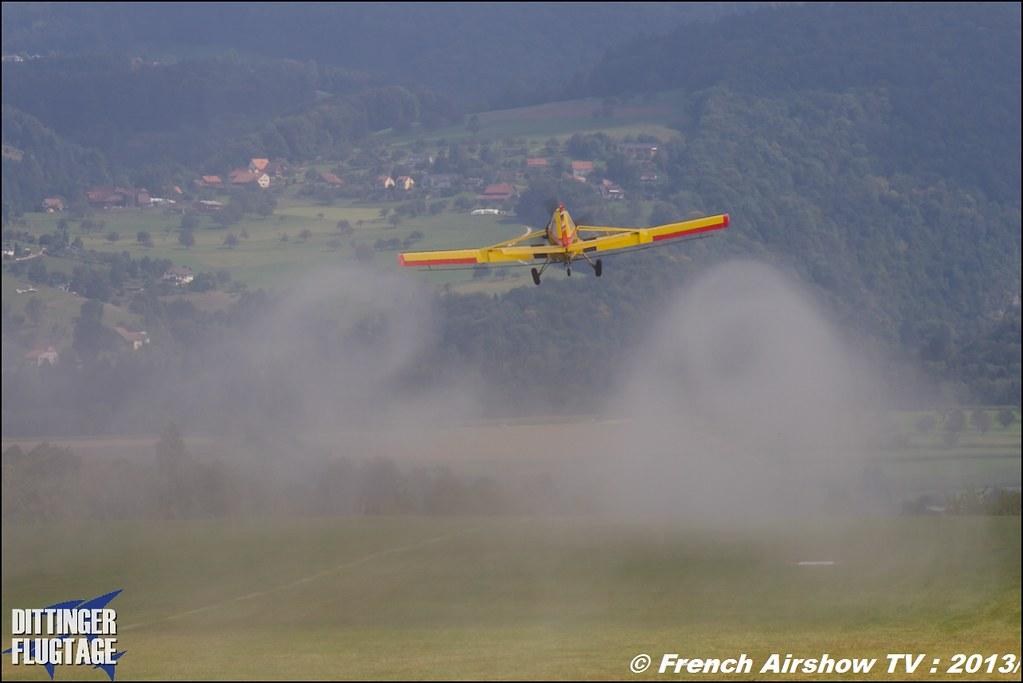 PZL 106 AR Le Tracteur volant ,Dittinger Flugtage 2013