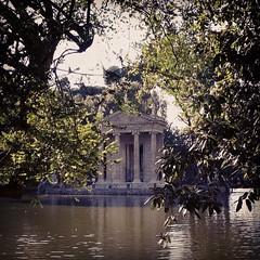 Tempio di Esculapio #roma  #villaborghese