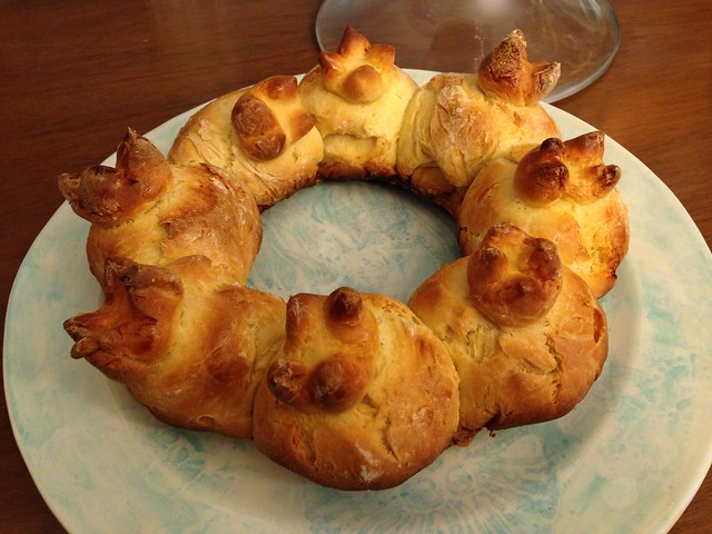 Pomegranate - Shaped Challah