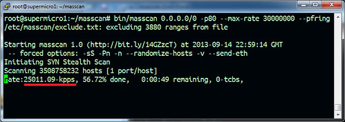 masscan - The Fastest TCP Port Scanner
