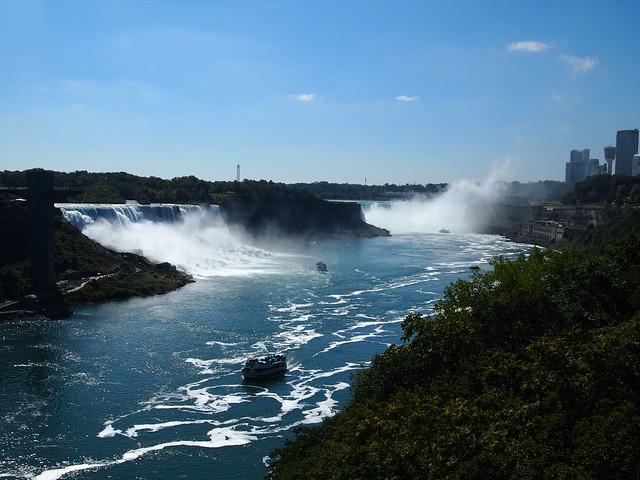 P9207828 カナダ,アメリカ,レインボーブリッジ,Rainbow Bridge,Niagara Falls,Ontario,Canada