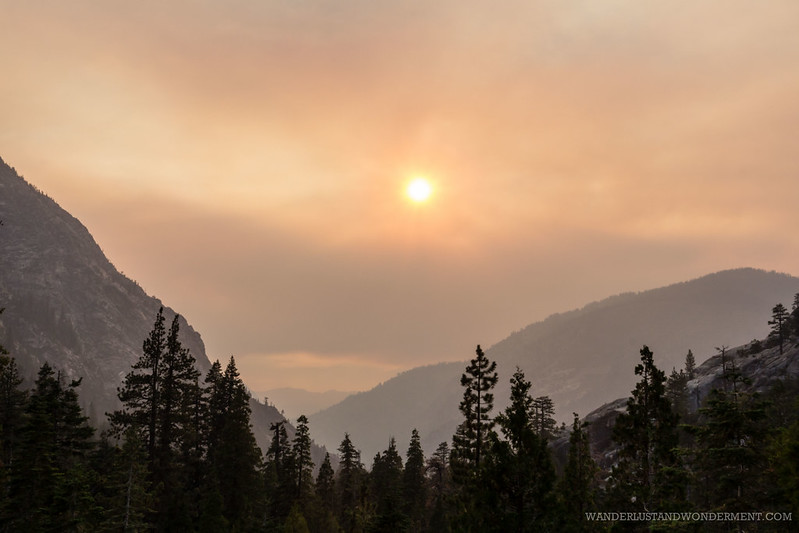 Smoky air from Yosemite's fires