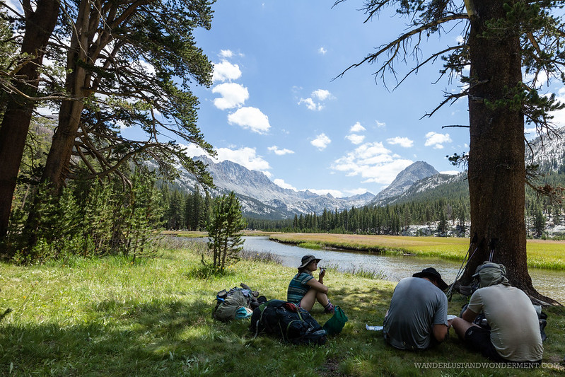 Breaktime at McClure Meadow