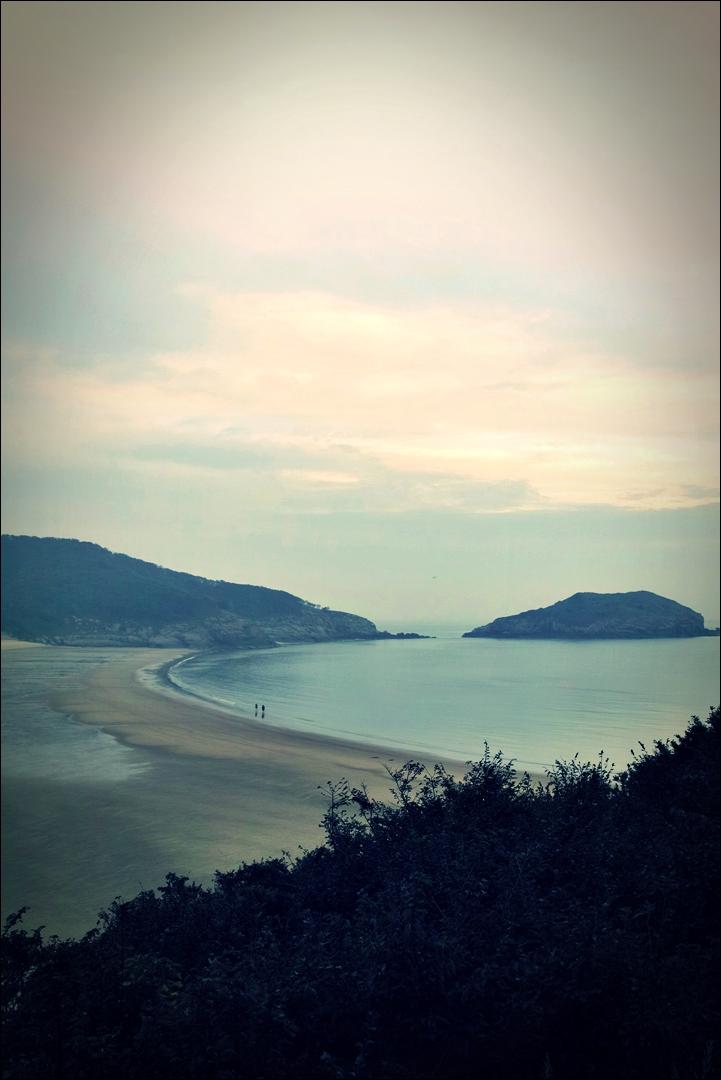 솔밭해변-'굴업도 백패킹'