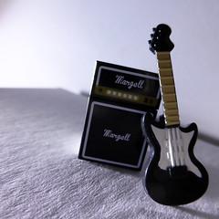 Custom Lego Guitar + Amp