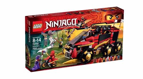 LEGO Ninjago 70750