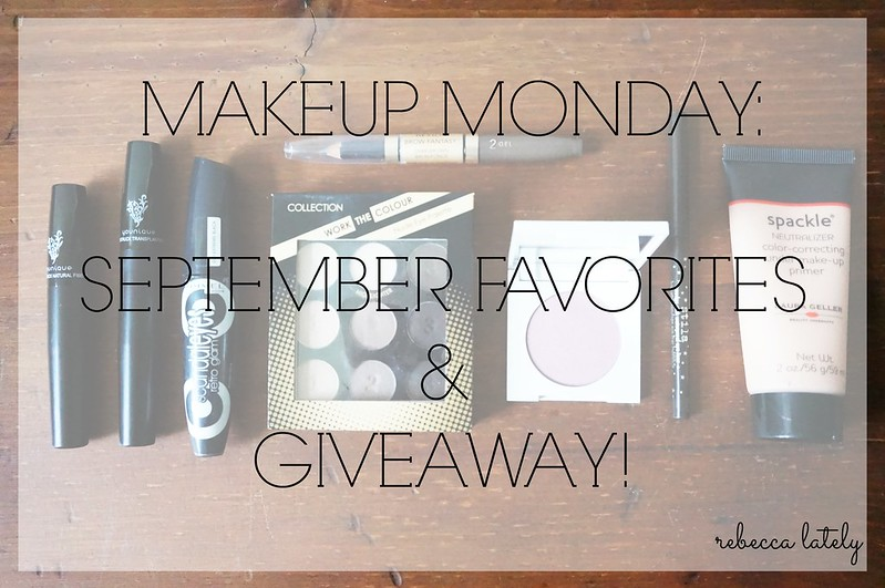 September Favorites & Giveaway