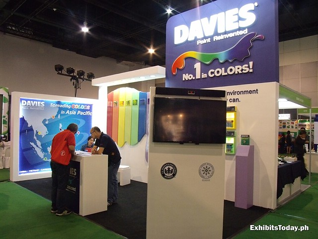 Davies Paint Exhibit Booth
